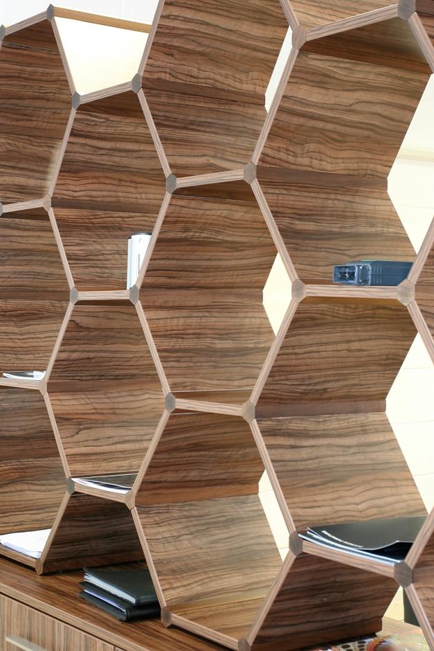 Hexagonal room divider Saffron Walden [1200]