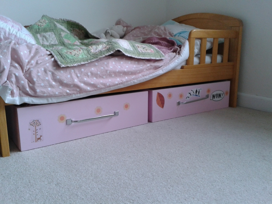 Underbed storage drawers in Trowbridge [1316]