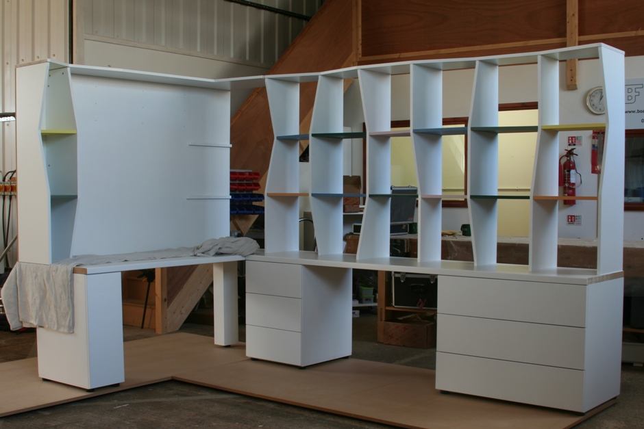 Bespoke office shelving Great Chesterford [1313]