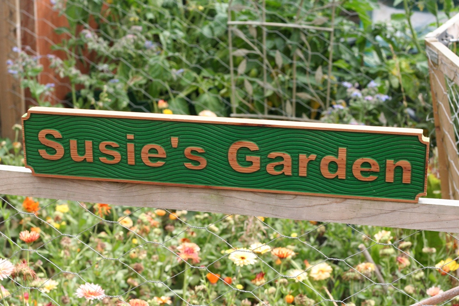 Cambridge Garden sign [1569]
