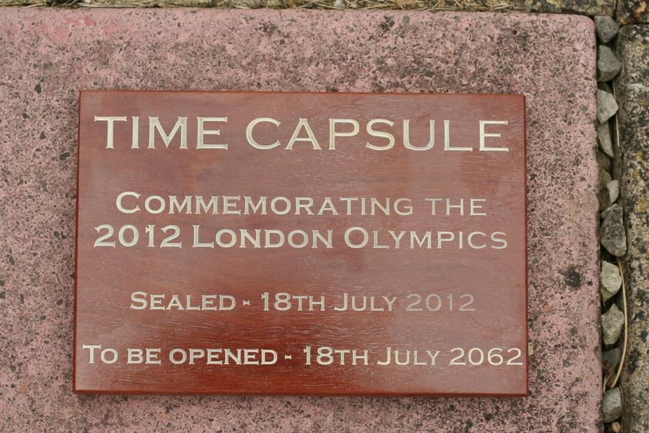 Time capsule plaque - Boatman Furniture