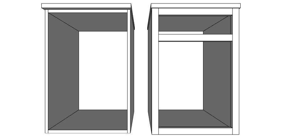 Frameless and Face Frame