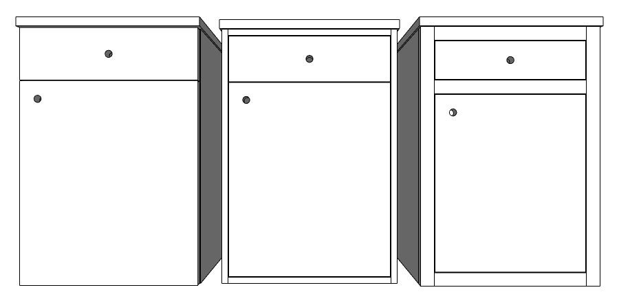 Overlay and inset doors