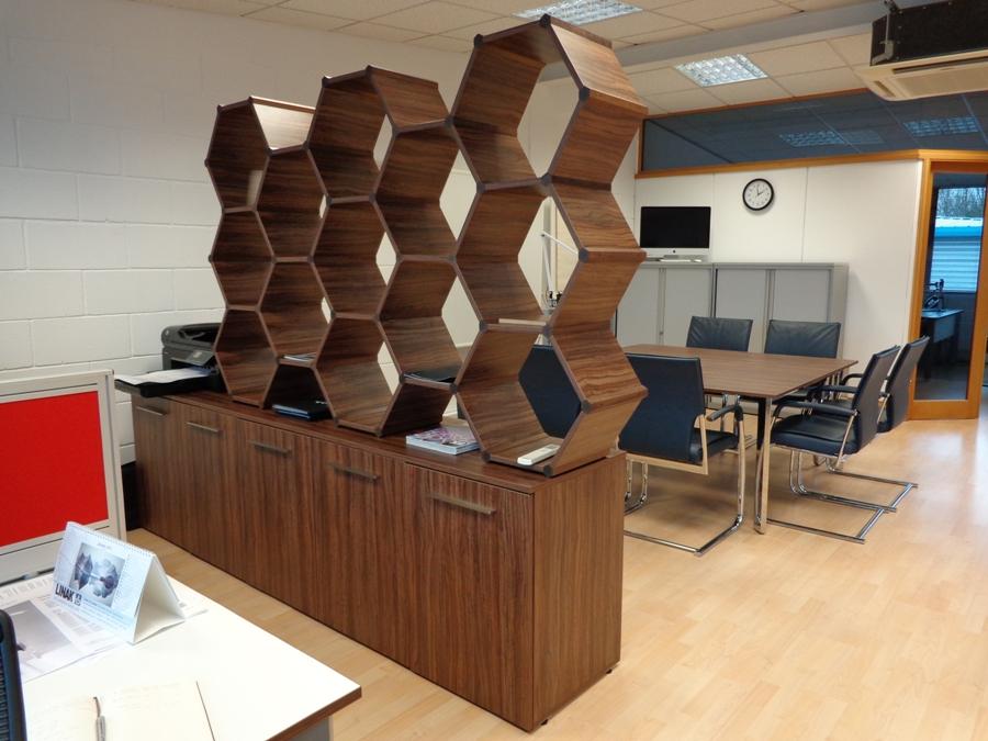 Hexagonal Room Divider Saffron Walden Boatman Furniture